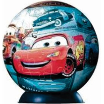 Rompecabezas 3d Ball Disney Cars 96 Pz Ravensburger 11339