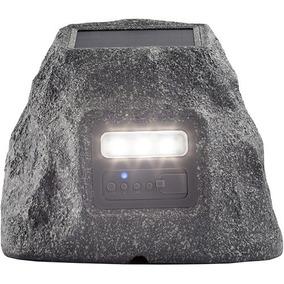 Ion Audio Solar Stone Glow Altavoz Inalámbrico Todo Clima