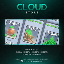 14.000 Gemas Clash Royale - Android - Cloud Store