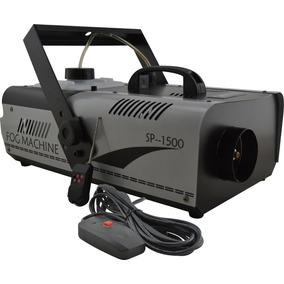 Máquina De Fumaça 1500w + Controle Com E Sem Fio C/ Garantia