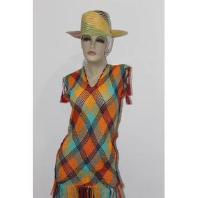 Mantas Wayuu Tipo Mallas + Sombrero
