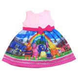Vestido Festa Infantil Backyardigans 1-6 Anos Frete Grátis