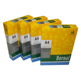 10 Resmas Papel A4 75g 500 Hojas Boreal - Matilda Regalos