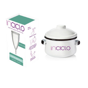 Kit Com Inciclo Copo Coletor Menstrual + Panelinha Higiene