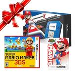 Consola Nintendo 2ds C/mario Kart7 + Mario Maker3 + 1 Amiibo