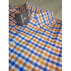 Camisa Brooks Brothers L Con Logo Bordado Nueva No Lacoste