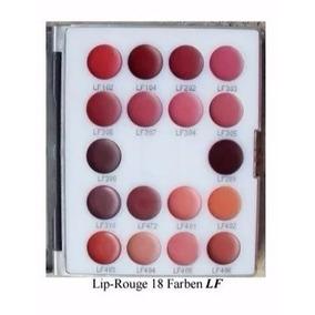 Kryolan Lip Rouge 18 Colors Minipalette Lf