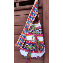 Bolsa Saco Peruana Estilo Wayuu Boho Trend Hippie