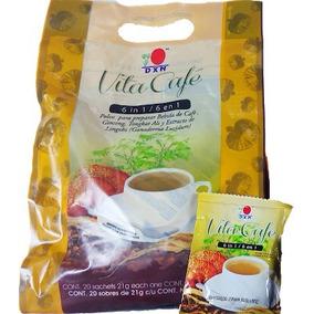 3 Bolsas Vita Café 6en1 Dxn / Café Orgánico Con Gingseng