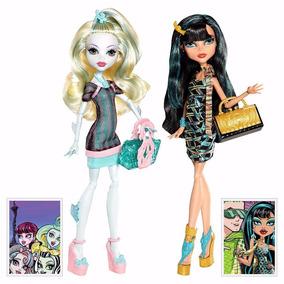 Monster High Saris - Lagoona Blue E Cleo De Nile