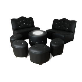 Salas Lounge King, Sillón Lounge, Antro, Bar, Mobydec, Sala