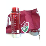 Bolsa Time Fluzão + Garrafa Squeeze Do Fluminense 650ml