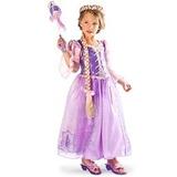 Disney Fantasia Infantil Deluxe - Rapunzel Festa-vestido