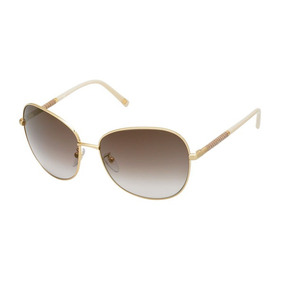 1bd6d776729b2 Óculos De Sol Escada Feminino Ouro Matte Ses80561383x