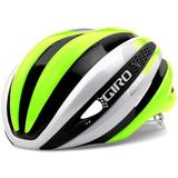 Capacete Giro Synthe Mips Mtb Road Tri Branco Verde Tam M