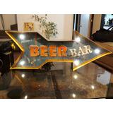 Letrero Bar Pub Beer Led Cerveza
