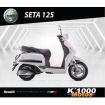 Benelli Seta 125 = Vespa Vintage Italiano No Chino