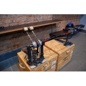 Pedal Duplo Dw 9000 Completo, Com Corrente E Fitas