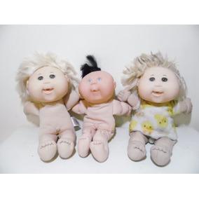 Lote 3 Muñeca Cabbage Patch Kids 34 Y30 H684