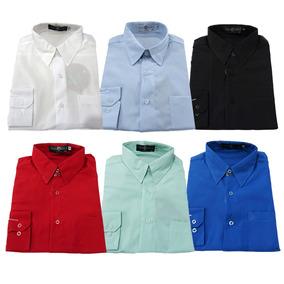 Camisa Social 100% Microfibra - Preço De Atacado