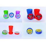 Vasos De Plastico Personalizados, Plegable, Telescopico X10u