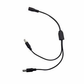 Cable Corriente Pulpo 1 A 2 Camara Seguridad 2.1mm Cctv