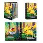 Pikachu fondo verde