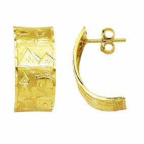 Brinco Escrava Ouro 18k Egito Largura 11mm