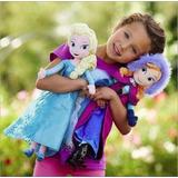 Muñecas Frozen 2 Elsa Y Anna Plush 50cm Disney Niñas Peluche