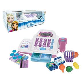 Frozen Caixa Registradora Infantil Com Som E Luz