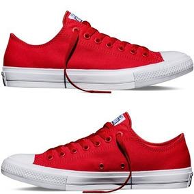 zapatillas hombre rojas converse