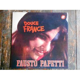 Fausto Papetti Douce France Lp Vinilo Arg.