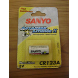 Pila Cr123 123a Litio 3 Volts Sanyo