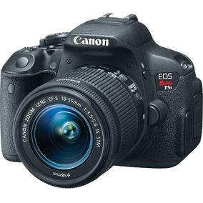 Câmera Canon Dslr Eos Rebel T5i Com Lente 18-55mm