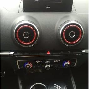 Kit Decoração Audi A3 Sedan Saida Ar Vermelho