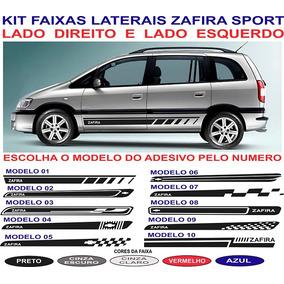 Acessorios Faixa Lateral Zafira Sport Chevrolet Adesivo Par