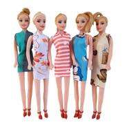 Caixa Com 100 Bonecas Atacado Brinquedo Barato Para Meninas