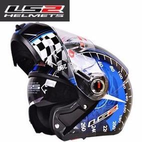 Capacete Ls2 Flip Up Helmets Modelo Ff370 Xl