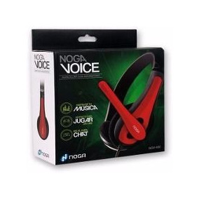 Auriculares Con Micrófono Noga Voice Ngv-400