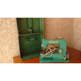 Maquina Elna - Completa E Em Funcionamento, Anos 40