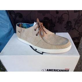 Zapato Marca Amaricanino Color Beige N° 43.