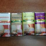 Tabaco Madison Sabores(chocolate,uva,vainilla Y Natural )