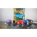 Pokemon Get Collection - Pokebolas Originales Sol Y Luna