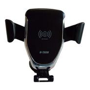 Suporte Celular Carregador Indução Saída Ar H-tech Ht-sc001
