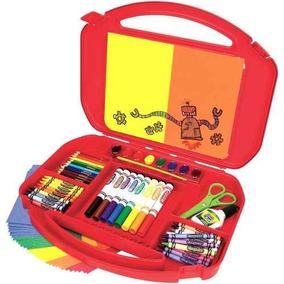 Maletín Crayola Incluye Marcadores, Crayones Y Mucho Más
