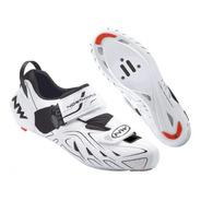 Zapatos Ciclismo Northwave Tri Sonic Blanco T41/us8,5/26,6cm