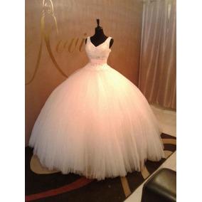 Vestido De Novia Nuevo Talla 10 Con Crinolina De 4 Aros