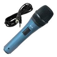 Microfono Dinámico Hipercardioide Con Cable Caja Cerrada