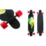 Kit 2 Skate Longboard 105 Cm Truck Blindado Abec 15