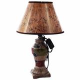 Lámpara De Cerámica Grande Con Base - Oferta Tutti